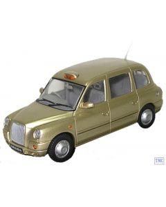 TX4002 Oxford Diecast 1:43 Scale TX4 Taxi Gold TX4 Taxi