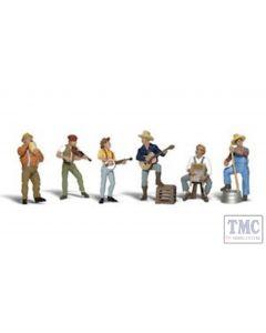 A2743 Woodland Scenics Painted Figures O Jug Band
