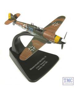 AC010 Oxford Diecast 1:72 Scale Messerschmitt Bf 109G