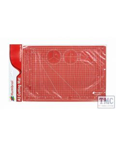 AG9157A Humbrol A3 Cutting Mat (Red)