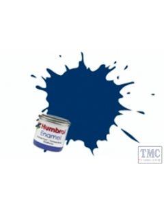 AQ0015 Humbrol No 15 Midnight Blue - Gloss  50ml (No.2) Tins