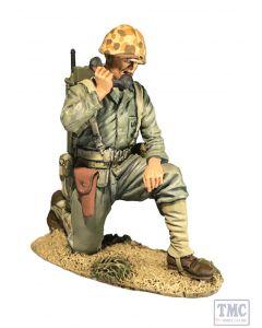 B13036 W.Britain U.S. Marine with SCR300 Radio, 1944-45 Jack Tars & Leathernecks 1800s to 1970s