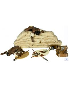 B20127 W.Britain Zulu Twilight _1 - 3 Piece Set Anglo-Zulu War 1879