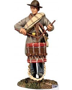 B31167 W.Britain Confederate Infantry Drummer in Frock Coat No.1 American Civil War 1861-65
