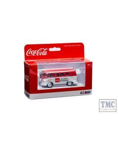 CC02733 Corgi 1:43 Scale Coca Cola - Late 1960's VW Camper