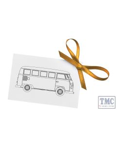 "CC02736 Corgi 1:43 Scale Volkswagen Campervan ""Congratulations"""