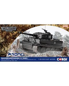CC60513 Corgi 1:50 Scale Tiger I – German Army SpzAbt 502- Russia 1942