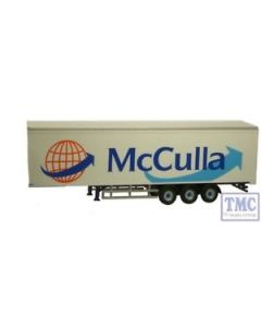 DAF01FRT Oxford Diecast OO Gauge Modern Trailer McCulla
