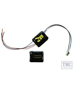 DCD-ZN360.6 DCC Concepts Zen Black Decoder Universal easy to fit 8-pin direct decoder with 6 functions