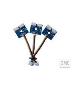DCP-CBYSL DCC Concepts 3x SHORT (50mm) Cobalt-SS Y-Connector Adapter