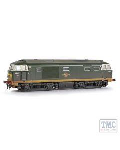 E84002 EFE Rail OO Scale Class 35 'Hymek' D7021 BR Green (Small Yellow Panels) [W]