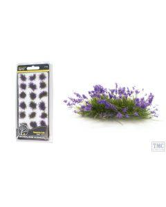 FS772 Woodland Scenics Violet Flowering Tufts (21 PC)