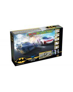 G1155M Scalextric Micro Scalextric Batman vs Joker Set Battery Powered Race Set