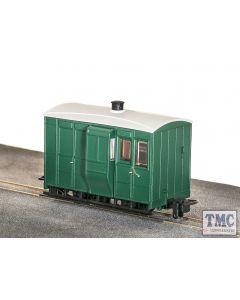 GR-530UG Peco OO9 Gauge Glyn Valley Tramway 4 Wheel Brake Coach Green
