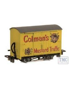 GR-900 Peco OO9 Gauge Box Van 'Colman's Mustard'