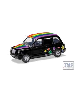 GS85929 Corgi 1:36 Scale London Taxi - Rainbow