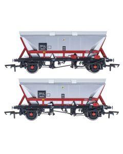 ACC2595HCA-EWS1 Accurascale OO Gauge HCA - Freight Brown - Pack 1