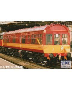 HEL9109 Heljan O Gauge 50ft Inspection Saloon EWS Red/Gold