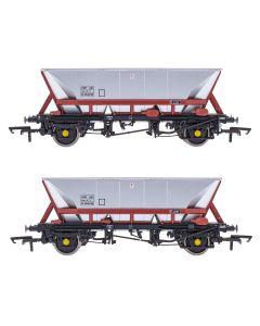 ACC2557HAA-FM3 Accurascale OO Gauge HAA - HOP AB - Freight Brown - Pack 3
