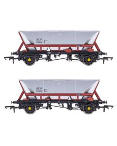 ACC2558HAA-FM4 Accurascale OO Gauge HAA - HOP AB - Freight Brown - Pack 4