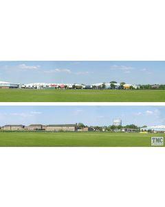 ID205 ID Backscenes OO Gauge Retail Park 3 Metres Long in 2 sections (38cm x 300cm)