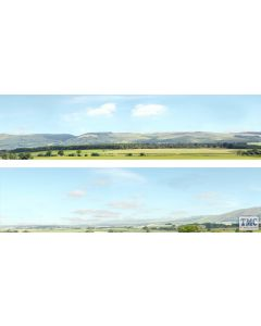 ID207A ID Backscenes OO Gauge Hills And Dales 3 Metres Long in 2 sections (38cm x 300cm)
