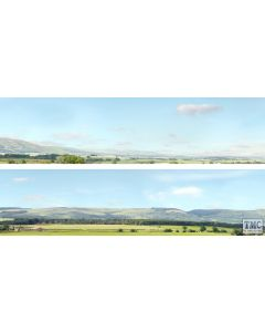 ID207D ID Backscenes OO Gauge Hills And Dales 3 Metres Long in 2 sections (38cm x 300cm)