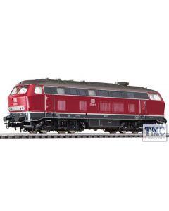 L132023 HO Scale Liliput Diesel Locomotive BR 219 Red DB Ep.IV
