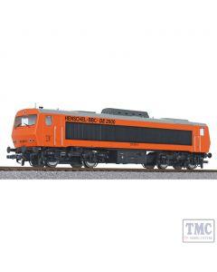 L132056 Liliput HO Scale Diesel Locomotive DE2500 202 003-0 DB Ep.IV AC