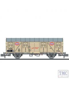 L265052 Liliput N Scale Closed wagon type Glmhs Dr. Oetker DB Ep.III