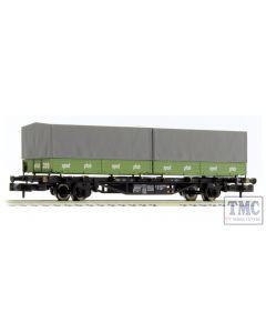 L265221 Liliput N Scale DB Intermodal Wagon Lgjs 571 'Hans Pfab' Ep.IV