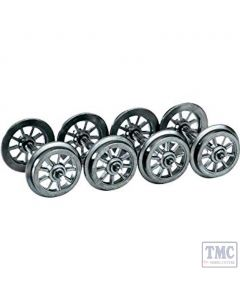 L999304 Liliput Metal Wheel Set Spoked Wheels