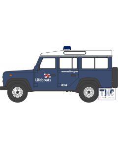NDEF014 Oxford Diecast  Land Rover Defender Station Wagon RNLI