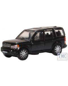 NDIS002 Oxford Diecast N Gauge Land Rover Discovery 4 Santorini Black