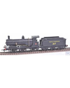 OO Works OO Gauge Class 700 no.317 SR Lined Black (Hand Made)(Never Run)(Pre-owned)