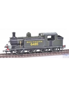 OO Works OO Gauge LBSC Class E4 0-6-2T no.6485 SR Lined Green (Hand Made)(Never Run)(Pre-owned)