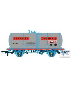 OR76TKA001 Oxford Rail OO Gauge Class A Tank BRT Staveley Chemicals Class A 5485