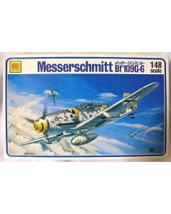 Otaki Messerschmitt 1:48 Scale Bf109G-6 Kit No OT2-25-400 1:48 (Pre owned)