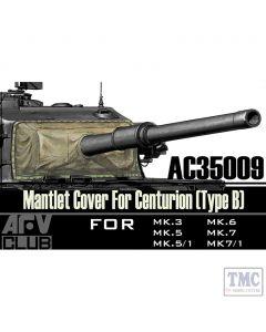 PKAC35009 AFV Club 1:35 Scale Centurion Mantlet Cover Type B (vinyl)