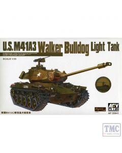PKAF35041 AFV Club 1:35 Scale M41A3 Walker Bulldog Light Tank