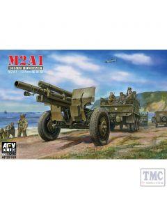 PKAF35160 AFV Club 1:35 Scale M2A1 105mm Howitzer