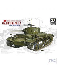 PKAF35199 AFV Club 1:35 Scale Valentine Mk IV Soviet Red Army Version