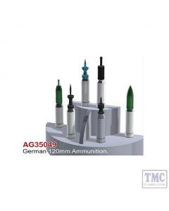 PKAG35049 AFV Club 1:35 Scale German 120mm Ammunition