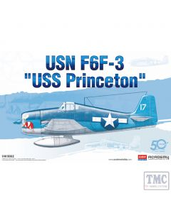 PKAY12332 Academy 1:48 Scale USN F6F-3 USS Princeton