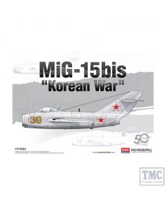 PKAY12566 Academy 1:72 Scale MiG-15bis Korean War