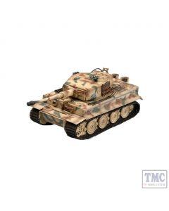 PKEA36217 Easy Model 1:72 Scale Tiger 1 Late Type, Totenkopf 1944