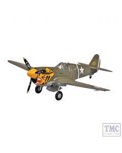 PKEA37272 Easy Model 1:72 Scale P-40E Tomahawk 11FS 343FG, 1942