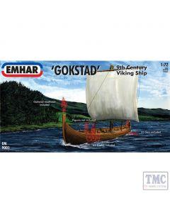 PKEM9001 Emhar 1:72 Scale Viking Ship