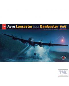 PKHK01E11 HK Models 1:32 Scale Avro Lancaster B Mk III Dambuster ED932/AJ-G Plastic Model Kit