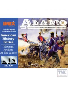 PKIM520 Imex 1:72 Scale Mexican Artillery at Alamo